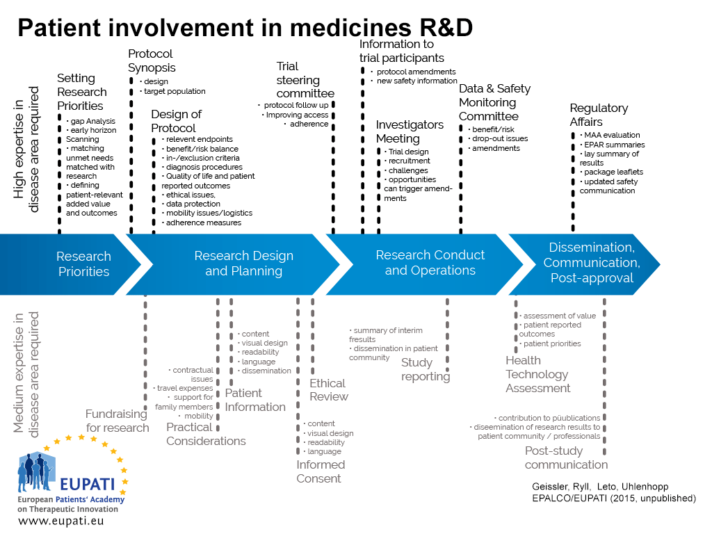 patient involvement roadmap